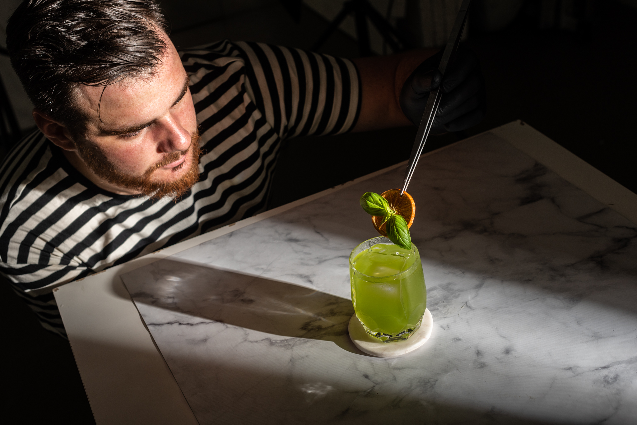 Fluére: alkoholmentes párlat, promóció, ügynökség, mocktail, koktél, itallap, perfect serve, heythere